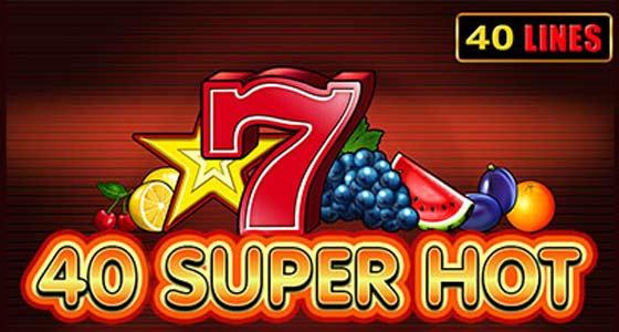 logo pentru jocul slot 40 super hot