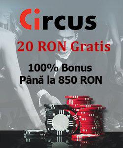 banner circus casino 20 ron gratis