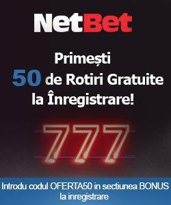 netbet 50 rotiri gratuite sloturi casino online