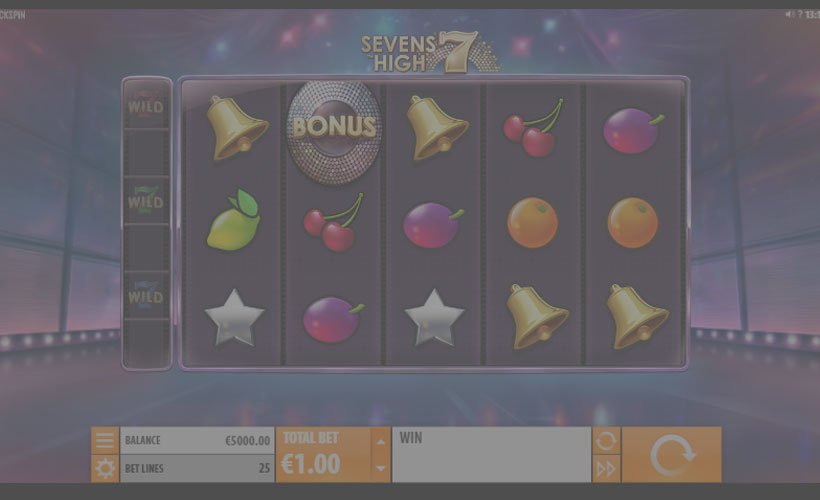 sevens-high slot