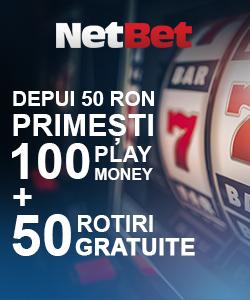 netbet casino oferta 50 rotiri
