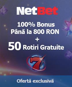 netbet casino - bonus rotiri gratuite sloturi online