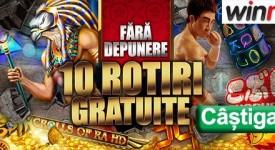10 Rotiri Gratuite Winmasters
