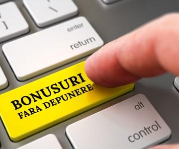 bonus fara depunere 2018 poza tasta enter