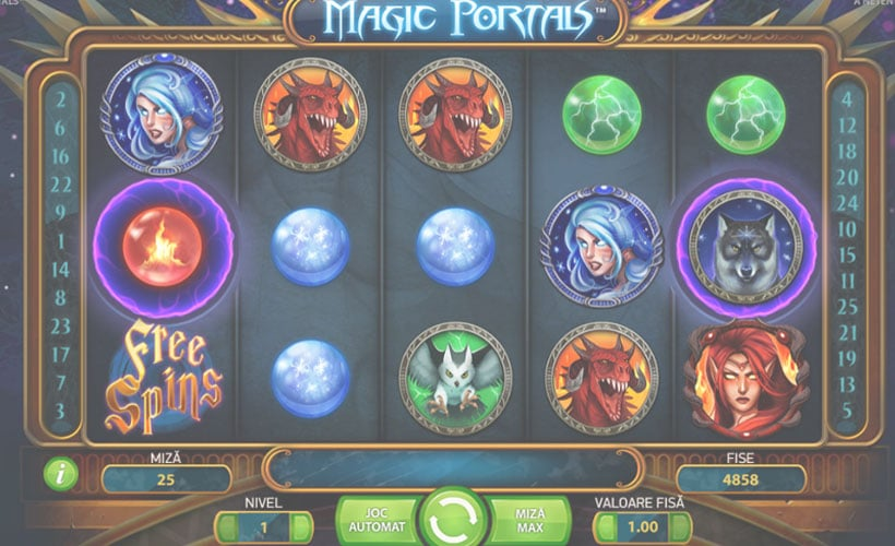 slot logo magic portals gratis