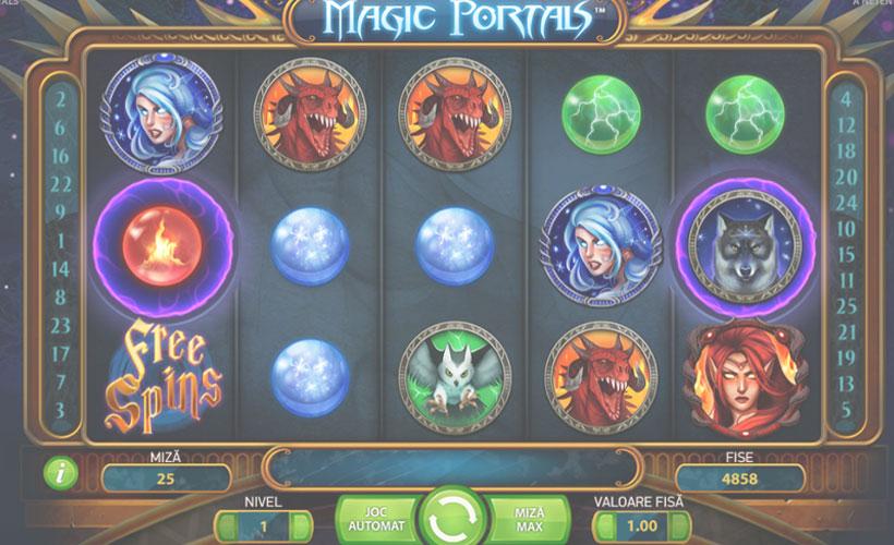 slot logo magic portals gratis