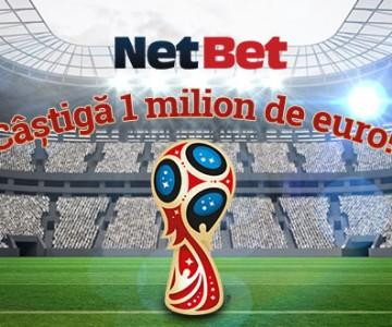 promotie Netbet Cupa Mondiala 1 milion euro