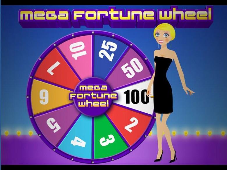 roata norocului cu premii reale mega fortune wheel
