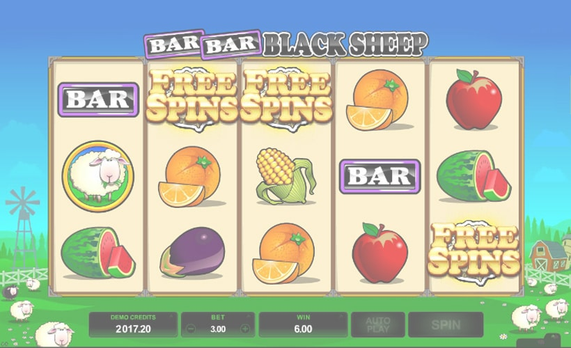 bar bar black sheep slot gratis