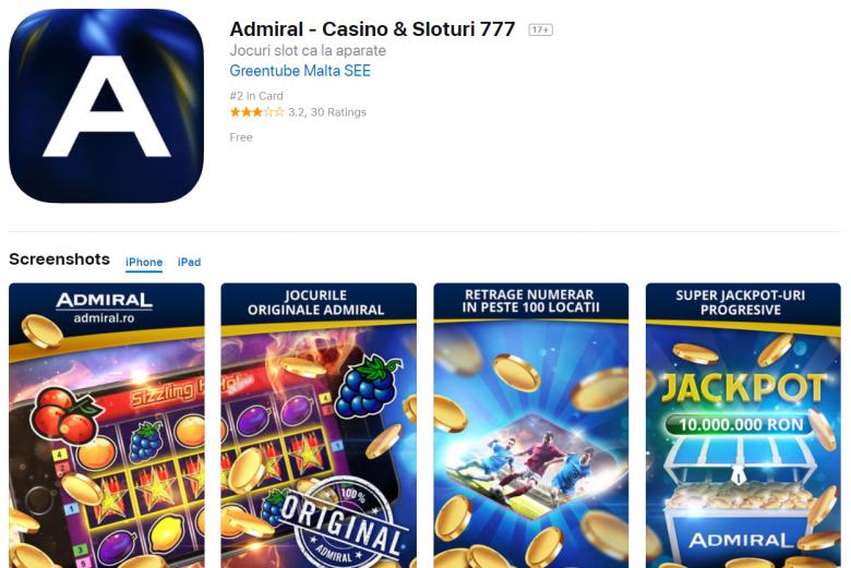 admiral app ios
