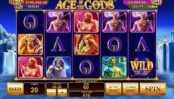 age of gods efortuna bonus