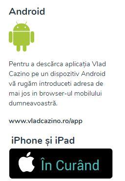 aplicatii jocuri vlad cazino mobile