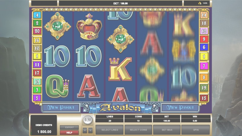 logo avalon slot gratis
