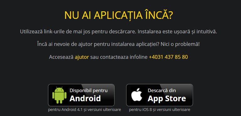 efortuna mobile aplicatii