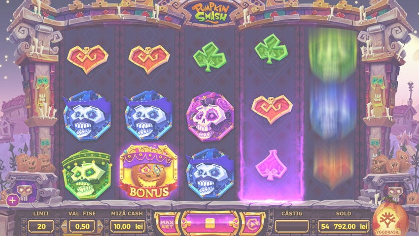 pumpkin smash slot gratis