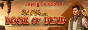 castig unibet book of dead