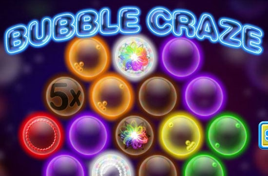 logo bubble craze gratis
