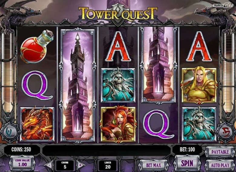 tower quest slot winmasters