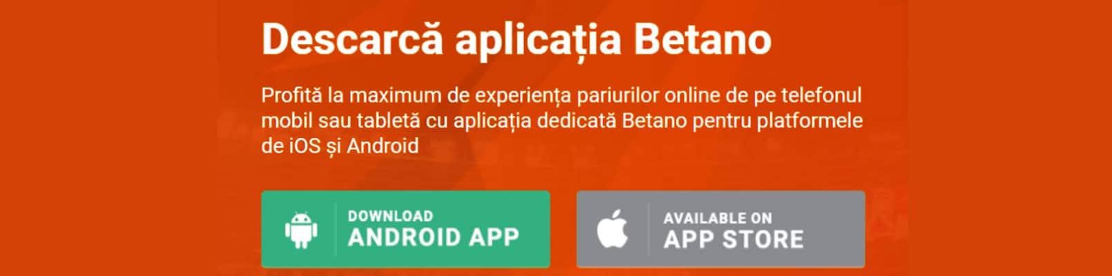 betano app android și iOS