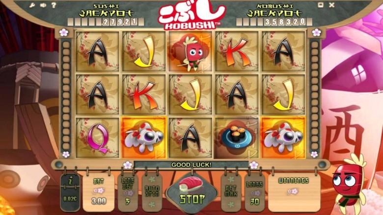 kobushi slot promotii casino netbet