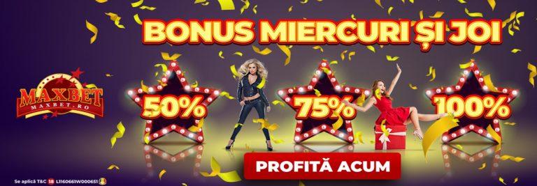 oferta maxbet casino miercuri joi