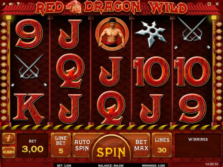 maxbet slots red dragon wild