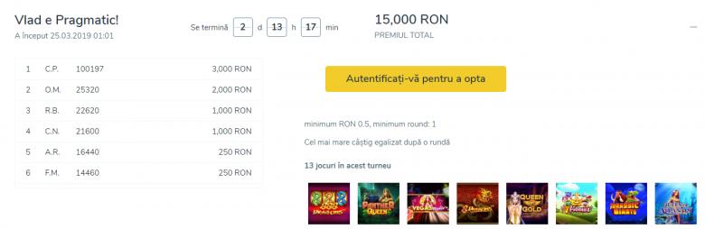 sloturi vlad cazino turneu 15000 RON