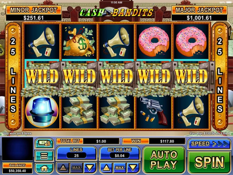 sloturi vechi online cash bandits