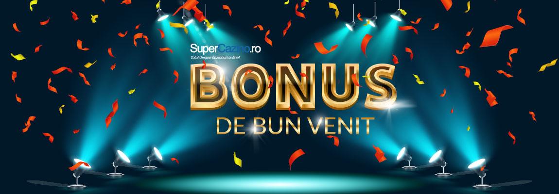 bonus de bun venit casino online