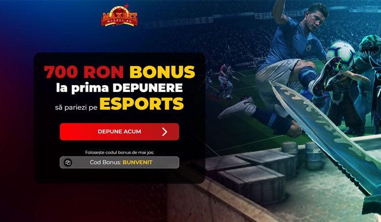bonus pariuri esports maxbet