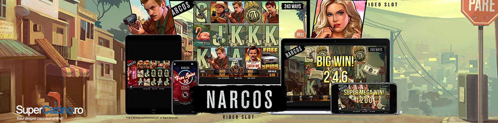 narcos slot online
