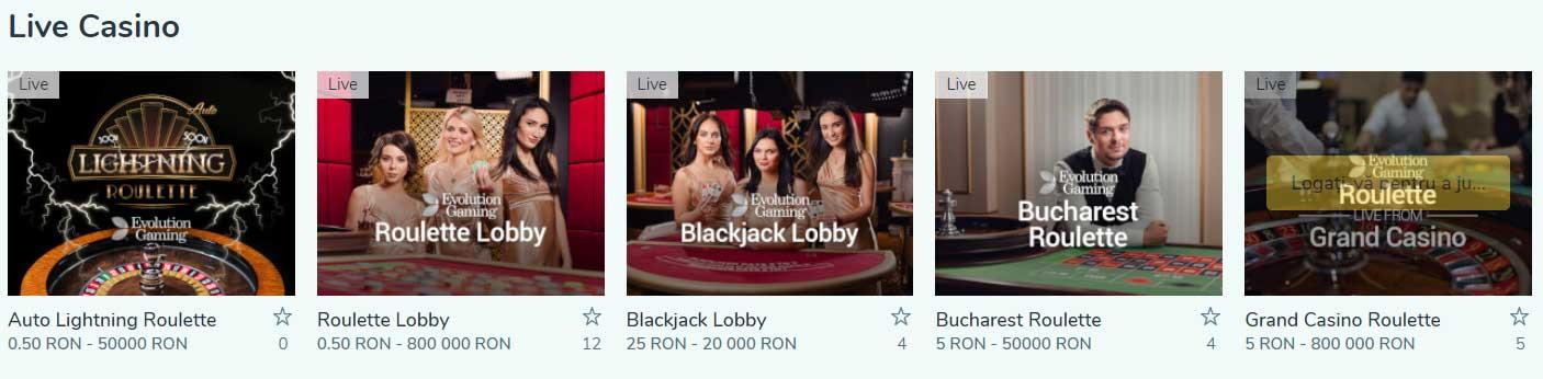 ruleta live vlad cazino