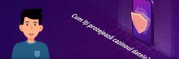 protecție date casino
