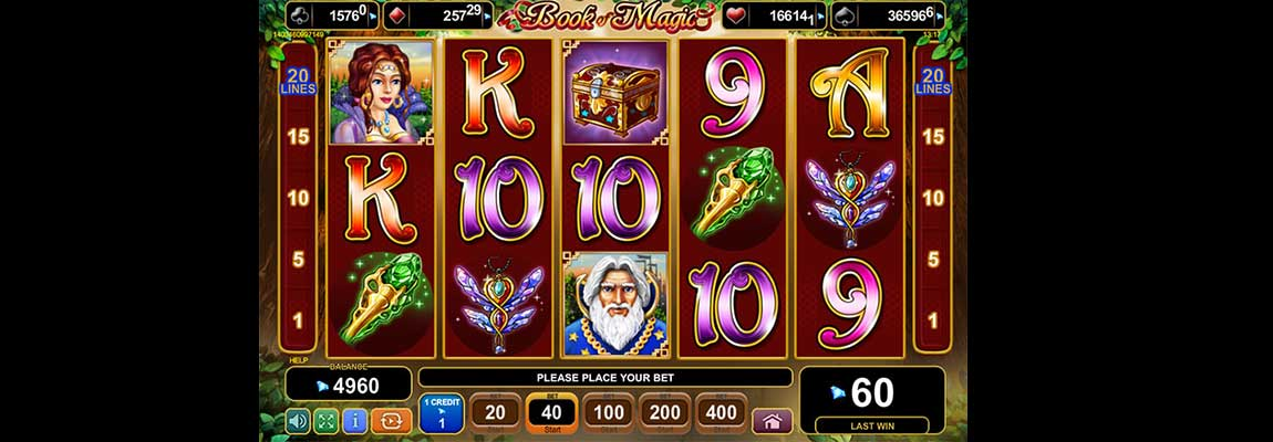 slot book of magic