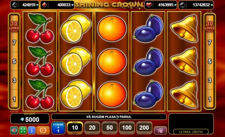 100 rotiri gratuite netbet shining crown