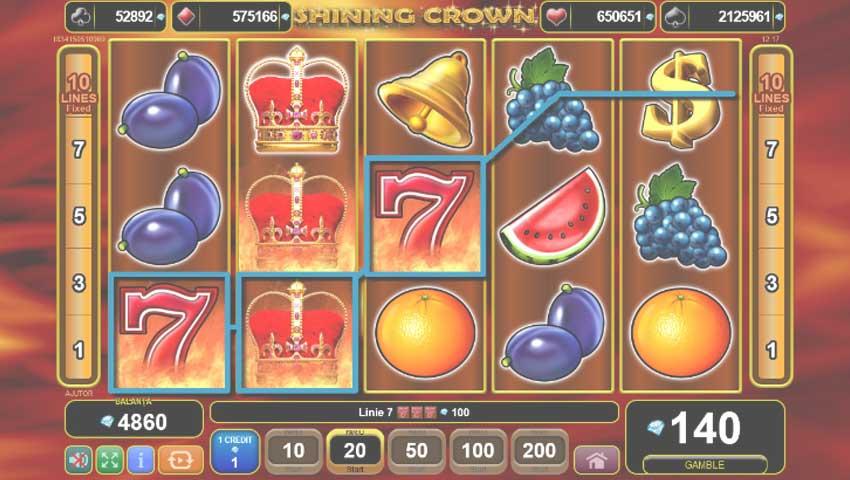 Shining Crown slot gratis
