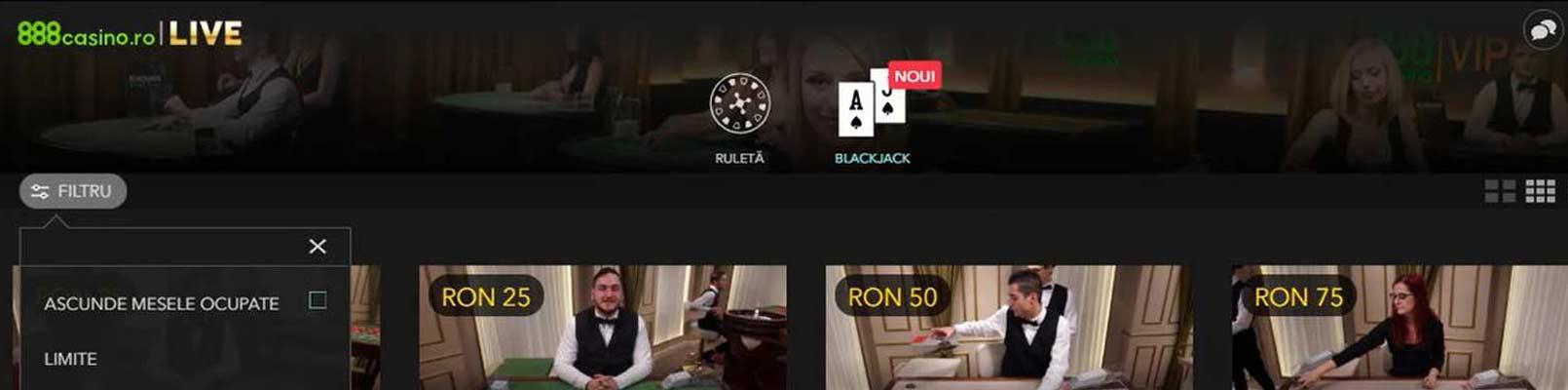 888 casino mese live blackjack