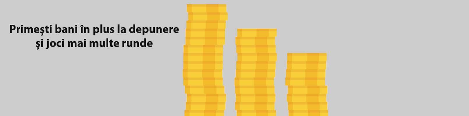 bonusuri cu depunere la cazinouri online