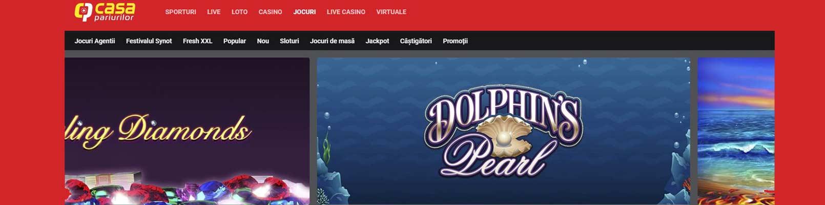 site casa pariurilor casino online