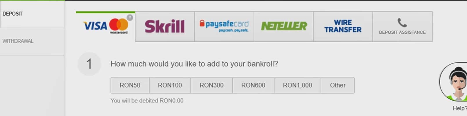 bonusuri la înregistrarea pentru opțiuni)