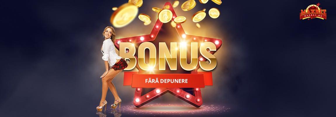 bonus fara depunere maxbet casino