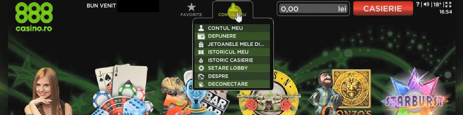 cum faci o depunere 888 casino online