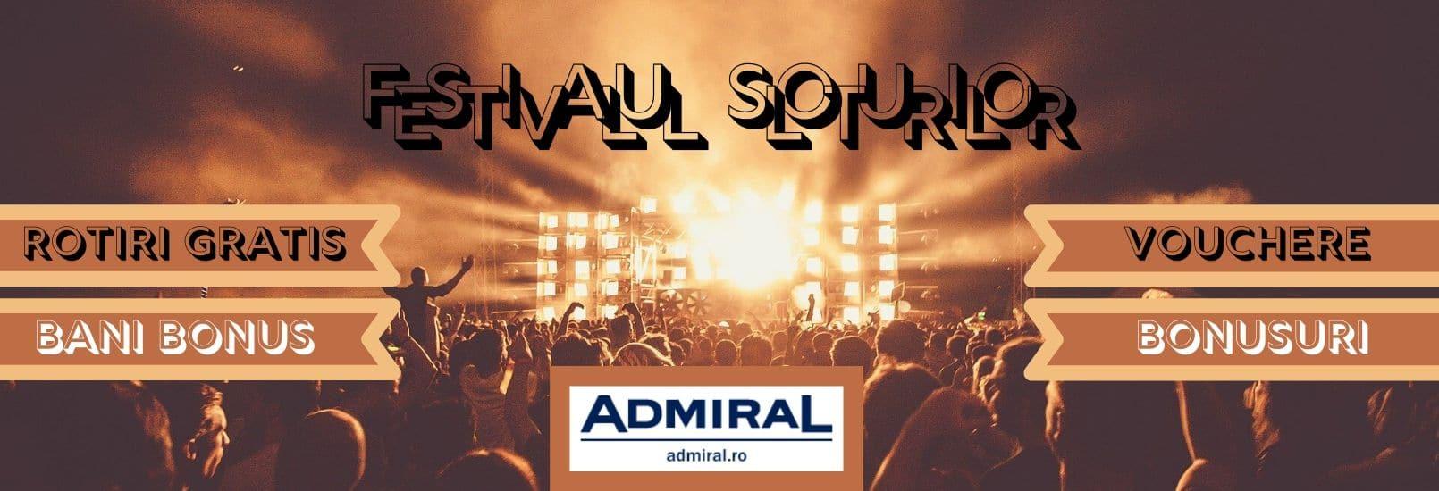 festivalul sloturilor admiral