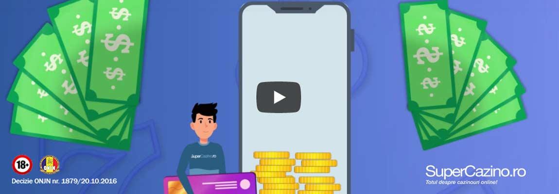 video bonus cu depunere supercazino