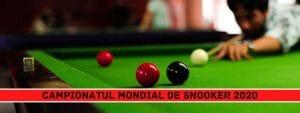 campionatul mondial de snooker 2020