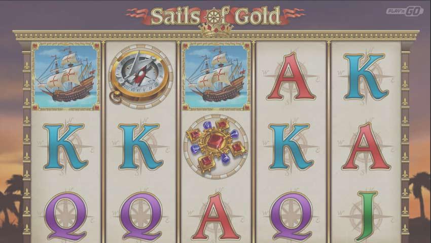 ecran de joc sails of gold gratis