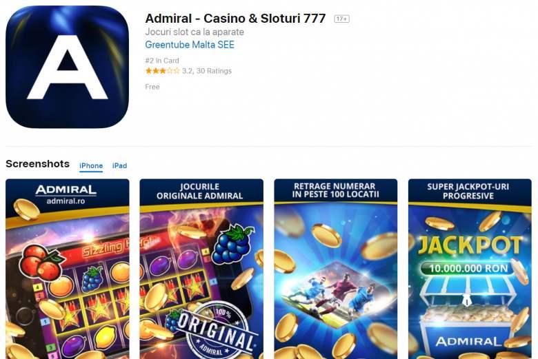 admiral mobil aplicatie apple store