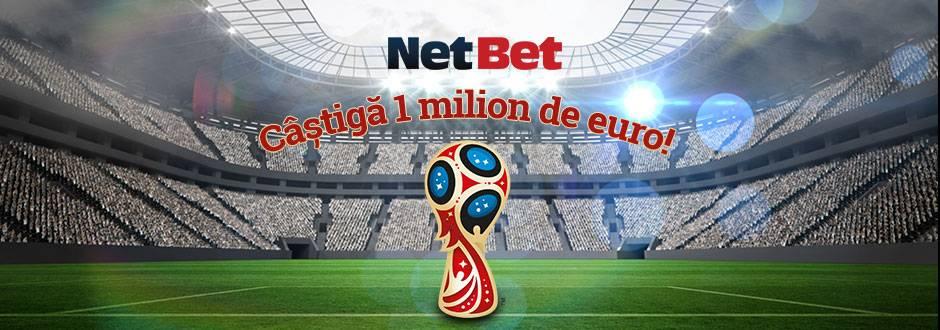 promotie Netbet Cupa Mondiala 1 milion euro bonus