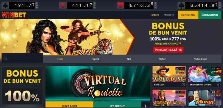 conectare câștiguri online