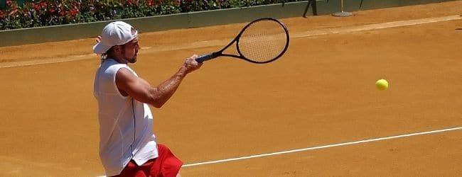 jucator tenis la roland garros 2020